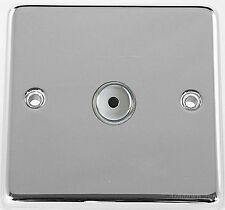G&H CC411 Polished Chrome 1 Gang 1 Way 400W Touch & Remote Control Dimmer Switch
