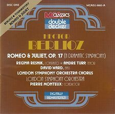 BERLIOZ : ROMEO & JULIET, OP. 17 (PART I) - LSO, MONTEUX / CD - TOP-ZUSTAND