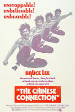 Framed Bruce Lee Movie Print – The Chinese Connection 1972 (MMA Martial Arts)