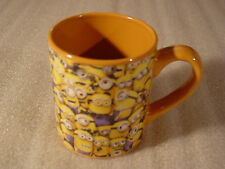 Silver Buffalo Despicable Me Cluttered Minions Ceramic Mug 14-Ounce NEW