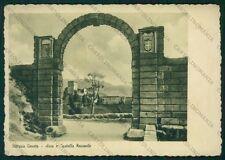 Treviso Vittorio Veneto Arco e Castello Vescovile PIEGHINE FG cartolina VK3169