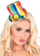 Buntes Clown Haarclip für Damen NEU - Karneval Fasching Hut Mütze Kopfbedeckung