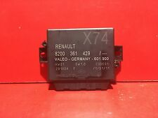 RENAULT LAGUNA 2 CALCULATEUR RADAR RECUL REF 8200361429