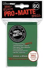 60 Ultra Pro Green Pro-Matte Deck Protectors. Trading Card Sleeves.