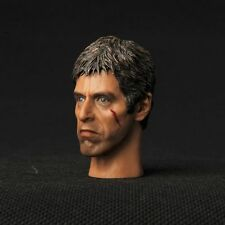 "12"" Figure HEADPLay Toy Scarface Al Pacino Tony Montana Man 1/6 Scale Model Head"