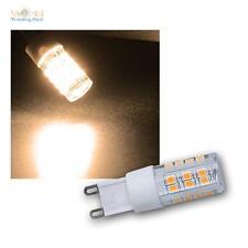 G9 LED Stifsockel Bombilla blanco cálido 400lm REGULABLE 230V/4W 260° Lámpara