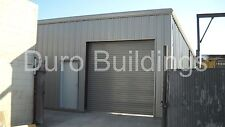 DuroBEAM Steel 25x30x10 Metal Garage Building Shop Do it Your Self Kits DiRECT