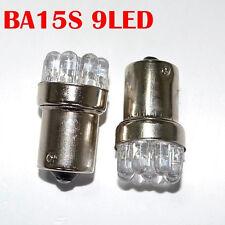 5X Car 1156 9 SMD LED BA15S Backup Light Turn Brake Light White Bulbs Lamp New