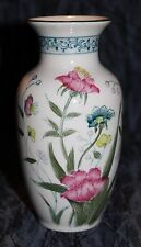 Andrea by Sadek Hand Painted Porcelain Vase - Fleur de Chantilly #6606
