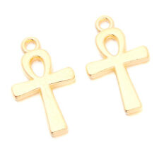 250pcs Wholesale Gold Plated Person Shapes Alloy Pendants Jewelry Ornaments D