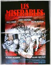 LES MISERABLES Affiche Cinéma ORIGINALE / Movie Poster JEAN CARMET LINO VENTURA