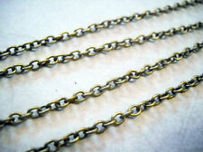 Bronze Chain Chains by the Foot Antiqued Bronze Chain 10 Feet Wholesale Chain