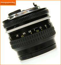 Nikon 50mm F2 Manual Focus Prime Lens + Free UK Postage