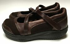 Skechers Shape-Ups XW Hyperactive Toffee Brown Mary Janes Walking Shoes Size 7.5