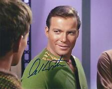 WILLIAM SHATNER CAPTAIN KIRK SIGNED 8x10 STAR TREK PHOTO 15 - UACC RD AUTOGRAPH