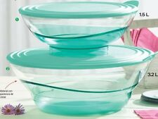 Tupperware Sheerly Elegant Acrylic Bowl Set 1.5L, 3.2L  New!!