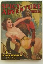 Spicy Adventure Dec 1939 Robert Leslie Bellem; Parkhurst Cvr