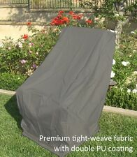"""Premium Tight Weave High Back Chair Cover 27""""W"""