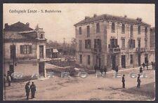 ASTI CASTAGNOLE DELLE LANZE 10 Frazione SAN BARTOLOMEO Cartolina viaggiata 1924