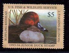 JDS1 (JDS 1) 1993 1ST Federal Junior Duck Stamp SUPERB OGNH EBAY STORE LOW=$55
