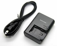 CG-700 BP-718 Battery Charger For Canon LEGRIA HF R48 R56 R57 R306 R406 R506