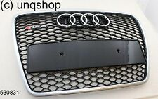 530831 Audi A6 C6 single frame grill UK Stock RS6 silver
