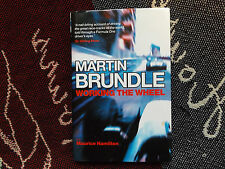 MARTIN BRUNDLE - WORKING THE WHEEL - HB DJ 2004 BOOK HAND SIGNED BY BRUNDLE (3)