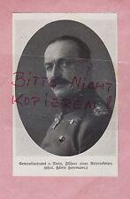 1916, Bildnis Portrait Fotografie Generalleutnant von Stein.