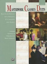 Masterwork Classics Duets, Level 4: A Graded Collection of Teacher-Student Piano