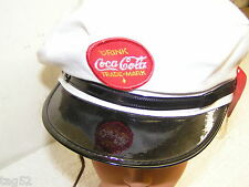 AUTHENTIC COCA COLA Vintage DRIVER Salesman HAT 1982 WORLD FAIR KNOX TN  WHITE