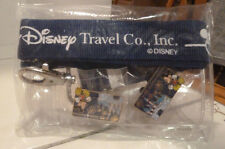 Disney Travel Company Lanyard, Pass Holder, 2 Ltd Edition Pins  New