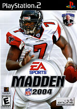 Madden NFL 2004 For PlayStation 2 PS2 Football With Manual And Case Very Good 2E