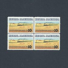 Rural America Kansas Winter Wheat Vintage Mint Set of Stamps 43 Years Old!