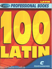 100 LATIN - SPARTITI PER STRUMENTI IN DO