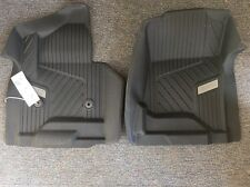 15-17 GMC Yukon All-Weather Floor Mats 84073616 Genuine OEM GM Black w/ GMC Logo