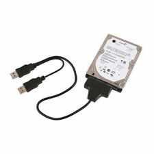 "2.5"" 7+22 Sata Hard Disk To USB 2.0 Adaptor Cable With Host Power Connection"