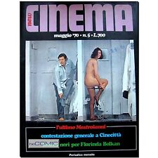 Cinema 5 X May 1970 italiano Filmmagazin Marcello Mastroianni Cinesex Cinecitta