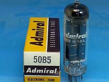GE 50B5 VACUUM TUBE ADMIRAL ALL AMERICAN 5 Valvola Lampe TSF Röhre SINGLE TUBE