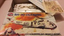 AIRFIX APOLLO SEA KING SH-3D RECOVERY HELICOPTER MODEL KIT complete  boxed