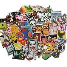 100 Pcs Stickers Skateboard Sticker Graffiti Laptop Luggage Car Decals mix lot!!