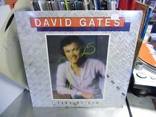 David Gates Take Me Now vinyl LP 1981 Arista VG+ in Shrink
