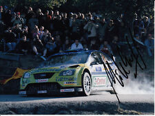 Mikko Hirvonen Hand Signed BP Ford World Rally Team Photo 8x6 2.