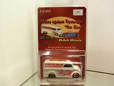 1999 Hot Wheels Limited Edition / Custom Dairy Delivery Van Mint In Package