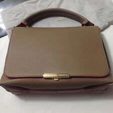 Emilio Pucci Leather Newton Shoulder Bag Beige/Red $2,250 + Chanel Shopper bag