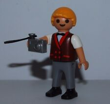 PLAYMOBIL BOY PHOTOGRAPHER WITH A DIGITAL CAMERA