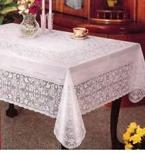 "VINILE Lace tablecloth RETTANGOLARE - 100% in Rilievo in Vinile - 60 ""x 90"""