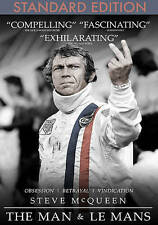 Steve McQueen - The Man & Le Mans DVD Brand New Ships Worldwide