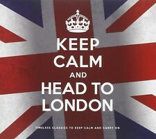 KEEP CALM AND HEAD TO LONDON 2 CD NEU DONOVAN/ELTON JOHN/THE BEATLES/+