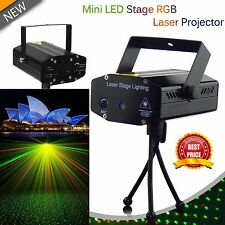 LED Laser Projector Club DJ Disco Bar Stage Home Lighting Light Sound Active
