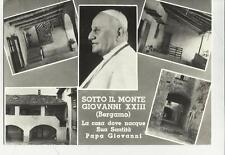 SOTTO IL MONTE GIOVANNI XXIII BERGAMO CASA DI PAPA GIOVANNI 1964
